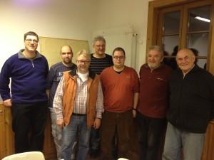Gruppenbild des aktuellen Vorstands
